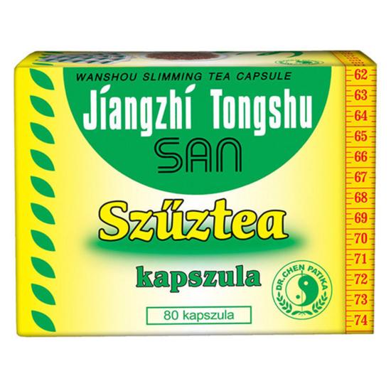 Dr. Chen Jiangzhi Tongshu San Szűztea kapszula 80x