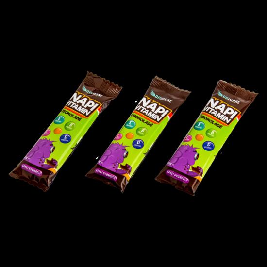 Napi Vitamin Csokoládé - Erdeigyümölcs ízű 1x