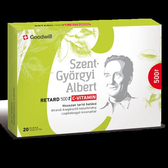 Szent-Györgyi Albert Retard 500 mg C-vitamin 20x