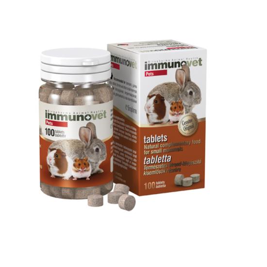 Immunovet Tabletta Kisemlősöknek 100x