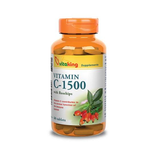 Vitaking C-vitamin 1500mg tabletta 60x